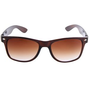 Nectar Brown Wayfarer Sunglasses For Men