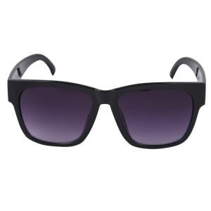 Nectar Black Wayfarer Sunglasses For Men