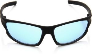 Nectar Blue Wrap-around Sunglasses For Men