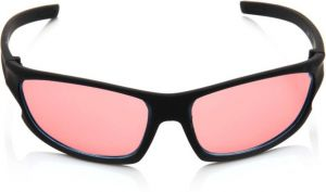 Nectar Red Wrap-around Sunglasses For Men