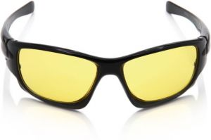 Nectar Yellow Wrap-around Sunglasses For Men