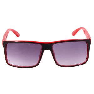 Nectar Red Wayfarer Sunglasses For Men
