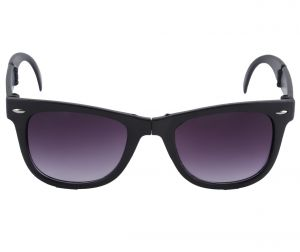 Petrol Black Wayfarer Sunglasses For Men