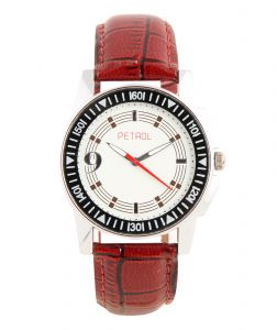 Synthetic strap - Petrol Decker Analog Watch  - For Men
