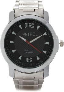 Mens' Watches   Round Dial   Metal Belt   Analog - Petrol Analog Watch - For Men