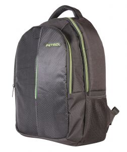 Petrol Black Laptop Bag