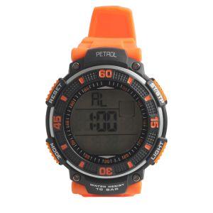 Synthetic - Petrol Sports Digital Watch  - For Men
