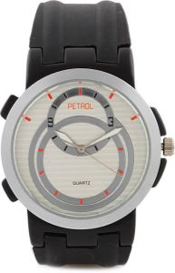 Rubber strap - Petrol Analog Watch - For Men