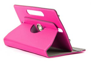 Domo Book Cover For 7 Inch Tablet PC (pink)