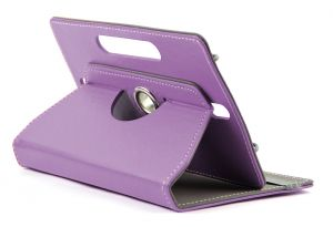Domo Book Cover For 7 Inch Tablet PC (purple)