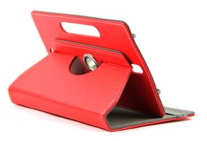 Domo Book Cover For 7 Inch Tablet PC (red)