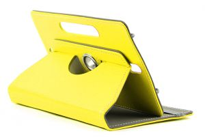 Domo Book Cover For 7 Inch Tablet PC (yellow)