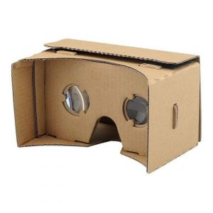 Domo Nhance Vrc57 Magnet Virtual Reality 3d And Headset For Smart Phones Upto 5.7 Screen - Inspired By Google Cardboard Video Glasses