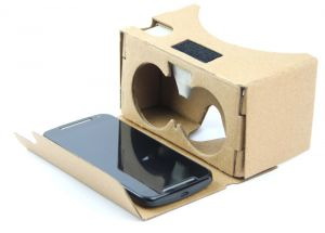 Domo Nhance Vrc625 Cardboard V2 Universal Virtual Reality 3d Video Vr Headset For Smart Phones Upto 6