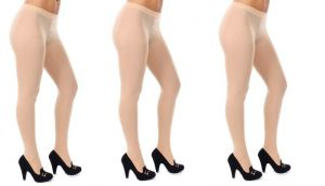 Wetex Premium Valvety Soft Opaque Nude Tights Pack Of 3 Free Size (product Code - 80 D Skin -po-3 )