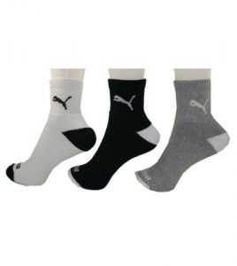 Puma Pack Of 3 Socks