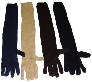 Long Sleeves Skin Protective Gloves (set Of 4 Pairs)