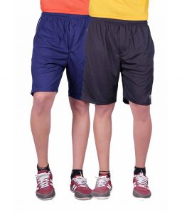 2 Gents Shorts Jogging Nicker, Men Hosiery Cotton Bermuda Half Pant