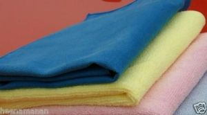 Car Home Microfiber Polishing Cloth Set Of 3pcs