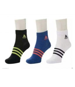 Adidas Black Casual Ankle Length Socks