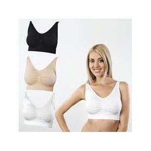 New Seamless Bra Set Of 3pcs Air Bra Total Comfor