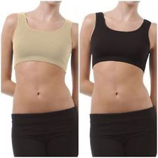 Set Of Two Sports Comfortable Inner Seamless Beautiful And Stylish Air Bra Free Size(code - 2 Air Bra)