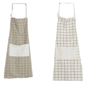 Welhouse India Set Of 2 Checkerd Aprons