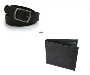Combo Pack For Men Executive Wallet & Belt