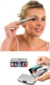 Eyebrow Trimmer And Shaper With Aluma