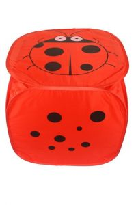 Chrome Red Ladybird Laundry Bag