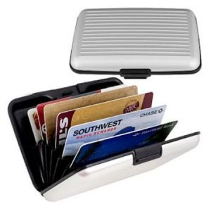 Aluma Credit Debit Atm Card Money Holder Wallet - Buy 1 Get 1 Free