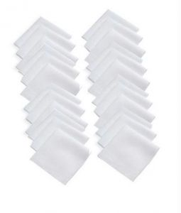 Premium Mens Handkerchief Set Of 24 PCs