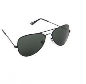 Nau Nidh Dark Black Lense Aviator Style Sunglasses Goggles Sun Glasses