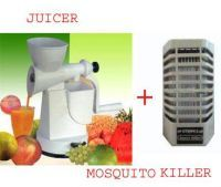 Electric Mosquito Killer With Hand Manual Juicer