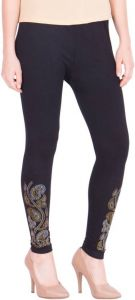 Women Party Wear, Ladies Jegging Black