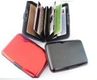 Set Of 3 Aluminium Wallet Alumna Purse Wallet