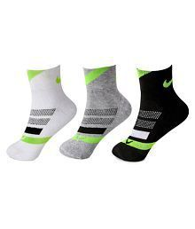 Nike Black Casual Ankle Length Socks