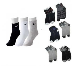 Branded Socks Set Of 3 Ankle Socks Set Of 6 Combo Offer
