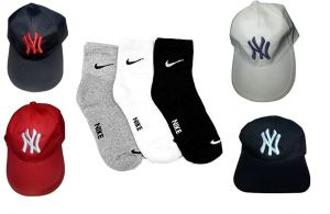 Buy 3 Pair Nike Socks Get Free Ny Cap