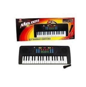 Sk Web Melody 37 Keys Musical Electronic Piano Keyboard With Karaoke Mic For Kids
