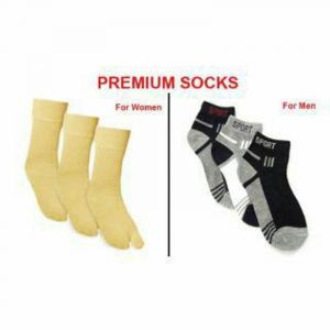 triveni,my pac,Solemio,V Apparels & Accessories - Men And Women Socks Combo