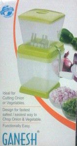 Ganesh Easy Onion, Dry Fruit & Vegetable Chopper