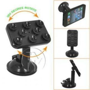 Smart Spider 360 Degree Rotation Suction Cup Holder Stand For Cell Phone,ip