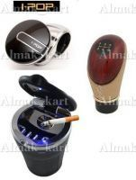 Combo Of Interios Accessories (ashtray Plus Gear Knob Plus Ipop Steering Knob)