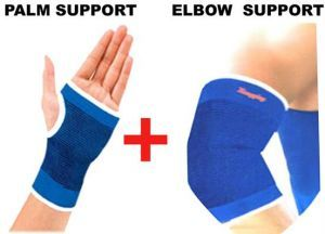 Palm Support With Elbow Support.