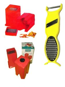 4 In 1 Multipurpose Kitchen Tool Free With A Potato Cutter