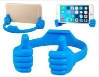 Thumb Design Ok Mount Stand Plastic Holder For Iphone6 Iphone6 Plus Blue
