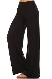 Solid Coloured Women Palazzo Pants Wear For Ladies