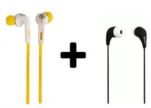 Buy 1 Get 1 Free Branded Signature Earphone, iPod Handsfree