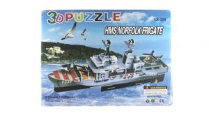 3d Puzzle Ship Game For Kids